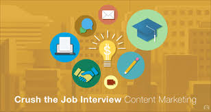 ace your content marketing job interview skilledup