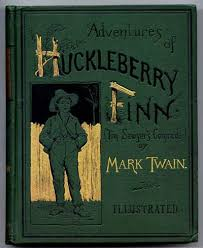The Advenutres of Hucleberry Finn by Mark Twain