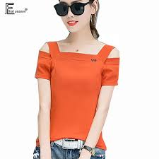 Off Shoulder Tops New Hot Sale <b>Korean Style Women Fashion</b> ...