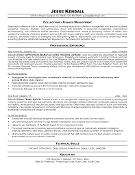 collection agent resume sample collections agent