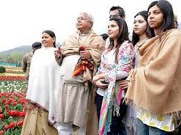 Laloo Ji with few members of his team.