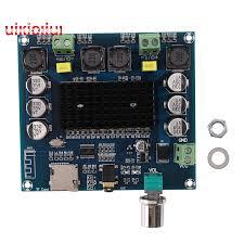 XH-A105 <b>Bluetooth</b> 5.0 TDA7498 Wireless Digital Power Amplifier ...