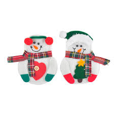 household dining table set christmas snowman knife: pcs set christmas decorations snowman silverware holders christmas ornaments for tables new year home xmas