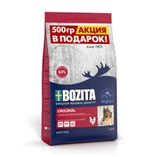<b>Сухой корм</b> для собак <b>Bozita</b> - в интернет-магазине Petshop.ru