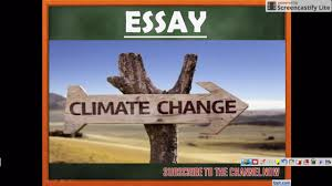 essay on climate change ssc cgl tier iii essay on climate change ssc cgl tier iii