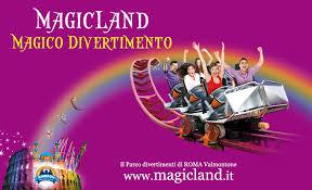 rainbow magicland attrazioni a pomezia