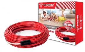 Греющий кабель <b>Thermo SVK</b>-<b>20</b> (<b>теплый пол</b> с стяжку, мощность ...