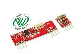 Walnut Innovations <b>433Mhz RF Wireless</b> Transmitter Receiver Module