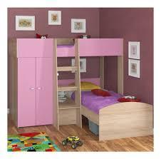 Купить <b>двухъярусная кровать Golden Kids 4</b> дуб сонома/розовая ...