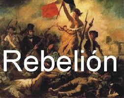 Resultado de imagen para rebelion social