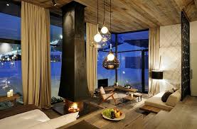 modern living room of boutique hotel austria amazing interior design