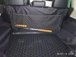 Карман-<b>сетка в багажник</b>. — <b>Mitsubishi</b> Pajero, 3.0 liter, 2012 year ...