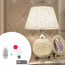 Schemerlamp Chambre Fille Abajour European Bedroom Lampara ...