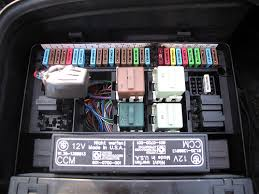 pics of my melted fuse box finally