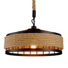 American creative table lamp <b>retro linen</b> bedside light bedroom ...