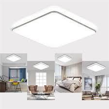 24w 1000lm <b>led ceiling</b> light sqaure <b>ultrathin</b> fixture for kitchen ...