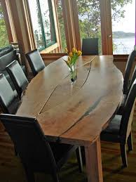 Dining Room Tables Portland Or Dining Table Comfy Diy Live Edge Dining Table