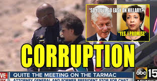 Image result for Bill Clinton and Loretta lynch photos together
