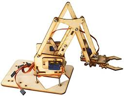 FTVOGUE Robot Arm Kit, 4 DOF DIY Wood Robot ... - Amazon.com