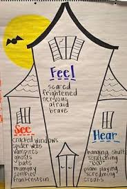 free printable  haunted houses and student on pinteresthaunted house    senses   adjectives