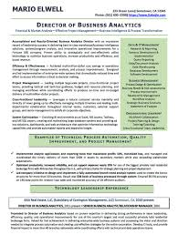 resume examples cv sample resume templates rso resumes 3 director of business analytics