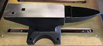 Old World Blacksmith Forged Steel 100#<b>Pound Anvil</b> Pritchel Hardy ...