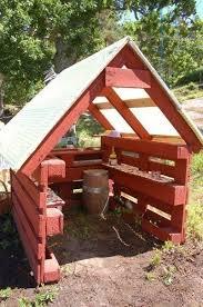 <b>Детский домик из</b> паллет 5 фото (с изображениями)   Садовые ...