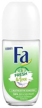 <b>Fa дезодорант</b>, ролик, <b>Fresh&Free</b> Лайм и кокос — купить по ...