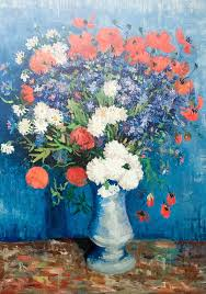 File:Still life of <b>flowers by Vincent</b> van Gogh - My Dream.jpg ...