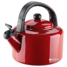 Чайник эмалированный Granchio Allegro Rosso ... - ROZETKA