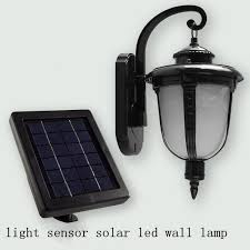 solar wall light antique continental led wall lamp light sensor lamp retro creative outdoor terrace lighting antique courtyard outdoor lighting 1