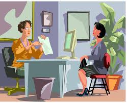 job interview clip art clipartfest the scariest job interview