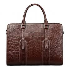 <b>Crocodile Briefcase</b>, <b>Alligator Briefcase</b> | BRUCEGAO