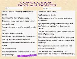 of conclusions for essays examples of conclusions for essays