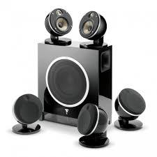 Комплекты <b>акустики Focal</b> Pack <b>Dome</b> 5.1 Flax & Sub Air black