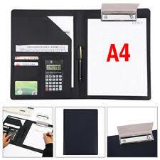 <b>Leather Folder</b> Office Organisers for sale | eBay