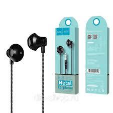 <b>Наушники Hoco M18</b>, Gesi <b>Metallic</b>, чёрный: продажа, цена в ...
