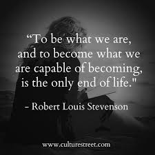 Culture Street | Quote of the Day from Robert Louis Stevenson via Relatably.com