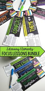 17 best ideas about literary elements literary literary elements bundle 10 focus lessons for any novel