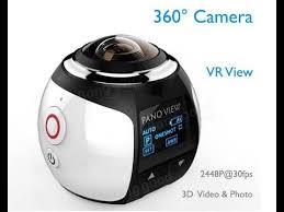 <b>360</b>° Mini WiFi Panoramic Video <b>Camera</b> 2448P 30fps 16MP Photo ...