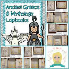 greek mythology unit interactive notebook student graphic ancient and greek mythology lapbooks
