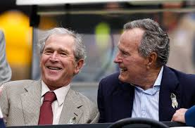 what did bush  think of his son    s presidency  new bio reveals    what did bush  think of his son    s presidency  new bio reveals   pbs newshour