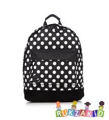 Купить <b>рюкзак mi</b>-<b>pac</b> polkadot all <b>polka</b> black/white в интернет ...