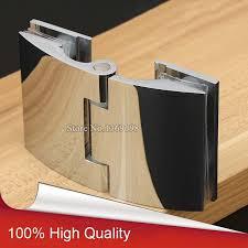 2PCS Brass Frameless Bathroom Shower Door Hinges Glass to ...