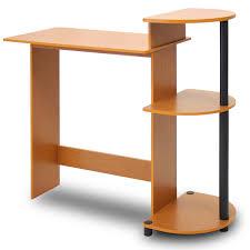 compact office desk. amazoncom furinno 11181lcbk compact computer desk light cherryblack kitchen u0026 dining office i
