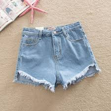 <b>New Summer</b> High Waist <b>Shorts For</b> Women Jeans Casual Girl ...