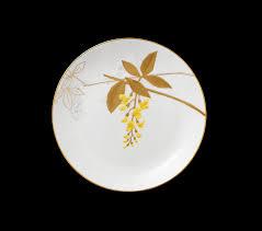 Flora - Plate - Laburnum (22 cm) - Shop online ... - Royal Copenhagen