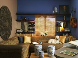asian living room  dp jane ellison elegant asian style living room blue walls sxjpgrendhgtvcom