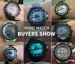 <b>SKMEI Fashion Men</b> Quartz <b>Watch</b> Dual Display Multiple Time Zone ...