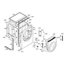 bosch dryer parts model wtmc6321us03 sears partsdirect cabinet door